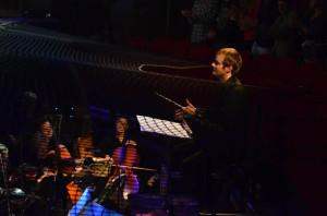 Gerben in de orkestbak