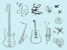 muziekinstrumenten plaatje